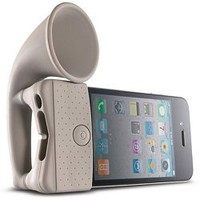 iPhone Speaker Horn Amplifier by Bone for iPhone 4