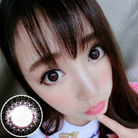 Circle lenses VASSEN- Lace color (purple)