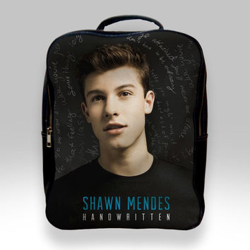 Backpack for Student - Shawn Mendes Handwritten Bags