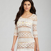 Gianni Bini Lace Dress Coverup | Dillards.com