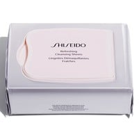 Shiseido Refreshing Cleansing Sheets | Nordstrom