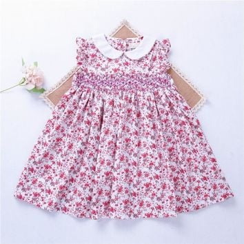 Classic British Liberty Smocked Dress