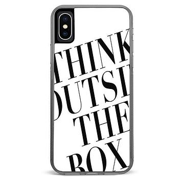Think Outside The Box iPhone X Case