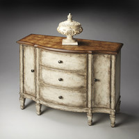 Artists' Originals Sheffield Toasted Mashmallow Console Cabinet