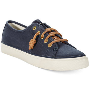 Sperry Women's Seacoast Canvas Sneakers | macys.com