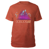 Coldplay Official Store | Coldplay Live Stage Photo Men's Tee