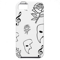 Phantom of the Opera iPhone 5 Case from Zazzle.com