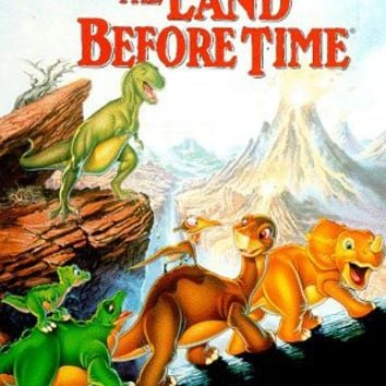 The Land Before Time [VHS]