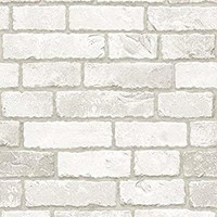 Vintage Brick Pattern Contact Paper Self-adhesive Peel-stick Prepasted Wallpaper (HSV631)