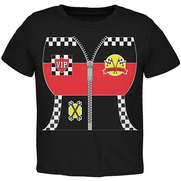 Halloween Hot Rod Costume Racing Toddler T Shirt