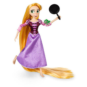 Disney Store Rapunzel Adventure Doll Tangled The Series 10'' New
