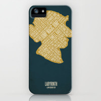 Jim Henson's Labyrinth iPhone & iPod Case by Jerod Gibson