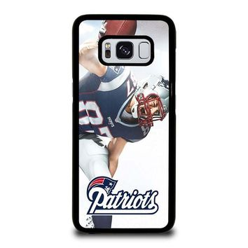 ROB GRONKOWSKI NEW ENGLAND PATRIOTS Samsung Galaxy S3 S4 S5 S6 S7 Edge S8 Plus, Note 3 4 5 8 Case Cover