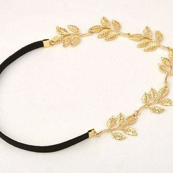VLX2WL Hair Accessories Headwear Stylish Star Leaf Decoration Hairband [11066524628]