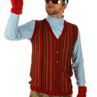 The Notorious B.I.G. Ugly Christmas Sweater Vest