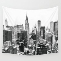 New York City Wall Tapestry by Vivienne Gucwa