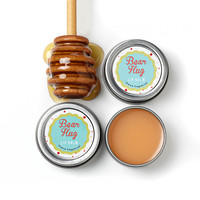 Bear Hug Honey lip balm tin