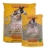 Sunseed Fresh World Bedding - Gray - 2130 cu in
