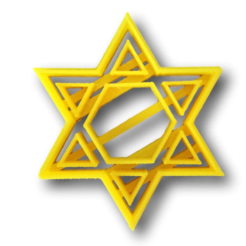 Star of David Cookie Cutter