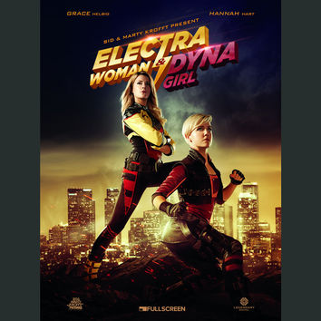 Electra Woman & Dyna Girl Movie Poster