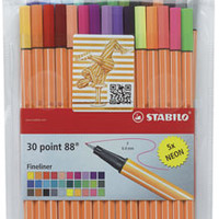 Stabilo Point 88 Fineliner Pen Sets - BLICK art materials
