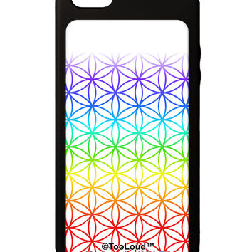 Chakra Flower of Life on White iPhone 5C Grip Case All Over Print