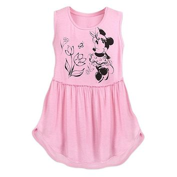 Disney Parks Sweet Minnie Mouse Swing Women's Tank Top Small New with Tag