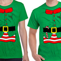 Matching Christmas Shirts Matching Shirts For Couples Matching Christmas Outfits Elf Costume Christmas Gifts Elf Shirt Xmas Gifts DN-322