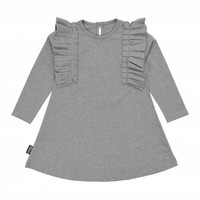 Moi Girls' Grey Dress