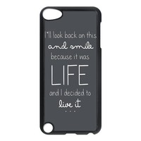 Ed Sheeran Quotes Ipod Touch 5th Generation Case Hard Plastic Ipod Touch 5 Case