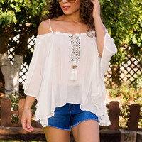The Festival Top - White