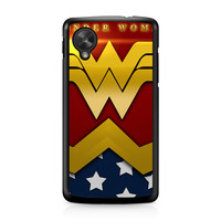 Wonder Woman Logo Nexus 5 case