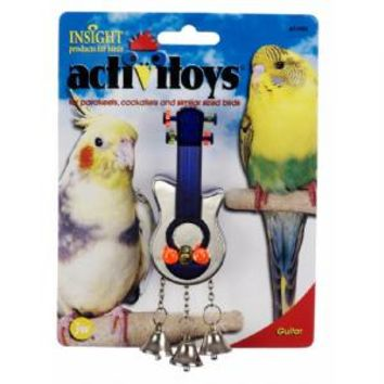 JW Pet Insight Activitoys Guitar