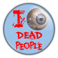 """The Sixth Sense Movie I See Dead People 2.25"""" Pin back or Magnet Back Button"""