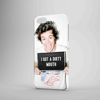 Harry Styles 'I Got A Dirty Mouth' iPhone Case Samsung Galaxy Case OC 3D