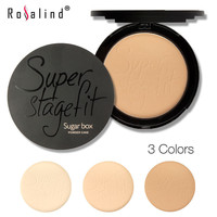 Brand Sugar box Super StageFit MakeUp Face Powder New Fabulous Pressed Face Powder
