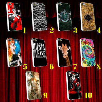 10 Personalized iPhone 5 , iPhone 4 case, ipod case, ipad mini case, Giraffe,Grateful Dead,Han Solo,