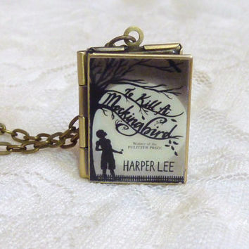 To Kill a Mockingbird Story Locket