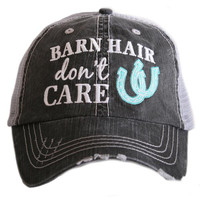 """Barn Hair Don't Care"" Trucker Hat"