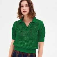 POLO SWEATER DETAILS