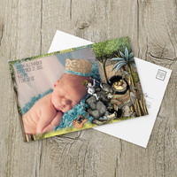 Instant Download - Where the Wild Things Are Monsters Max Alexander Douglas The Bull Baby Shower Announcment Photo Birthday Template