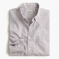 J.Crew Mens Secret Wash Shirt In State Check