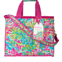 Lilly Pulitzer Insulated Beach Cooler-Spot Ya