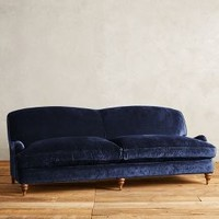 Slub Velvet Glenlee Sofa, Landon by Anthropologie