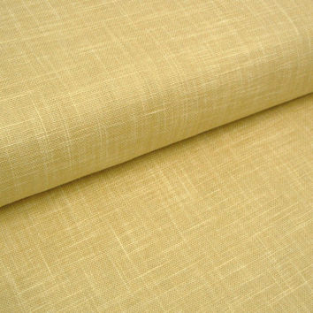 Buttercream Japanese cotton linen fabric for patchwork, dressmaking and crafts