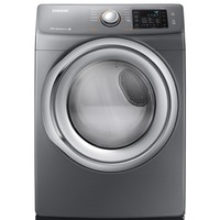 Shop Samsung 7.5-cu ft Stackable Electric Dryer (Platinum) at Lowes.com