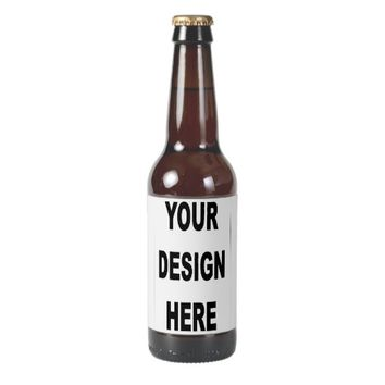 Create Your Own Template Beer Bottle Label