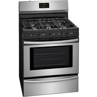 Shop Frigidaire 5-Burner Freestanding 4.2-cu ft Gas Range (EasyCare Stainless Steel) (Common: 30-in; Actual: 29.875-in) at Lowes.com
