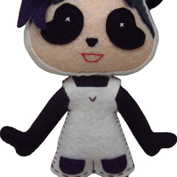 Made to Order Kawaii Panda Plush in Dress/Shorts