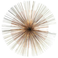 Radiating Rod Wall Sculpture by Curtis Jere